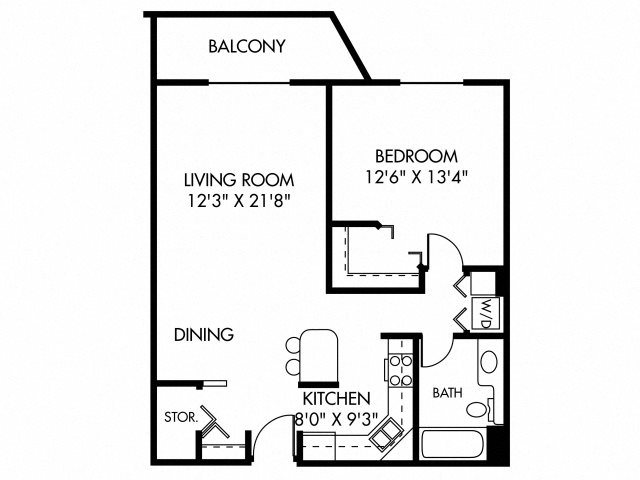 Augusta (Dog Friendly Unit) Floor Plan 4