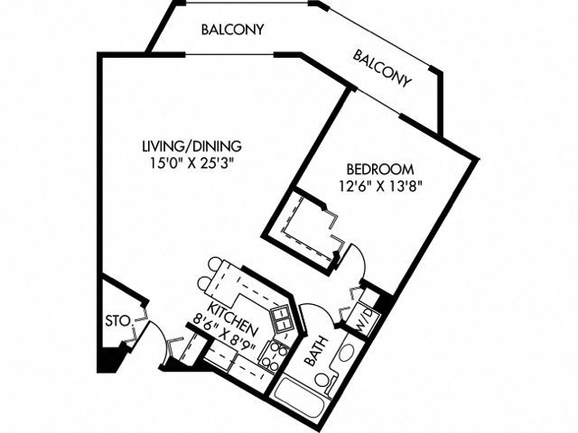 Dovre (Dog Friendly Unit) Floor Plan 5
