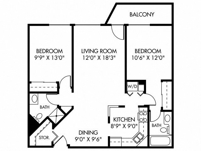 Ballantyne (Dog Friendly Unit) Floor Plan 8