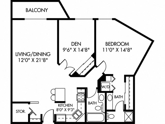 Freemont (Dog Friendly Unit) Floor Plan 11