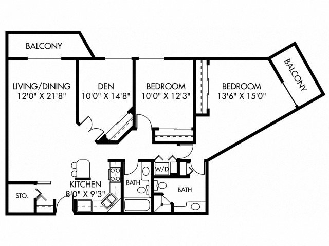 Auburn (Dog Friendly Unit) Floor Plan 19