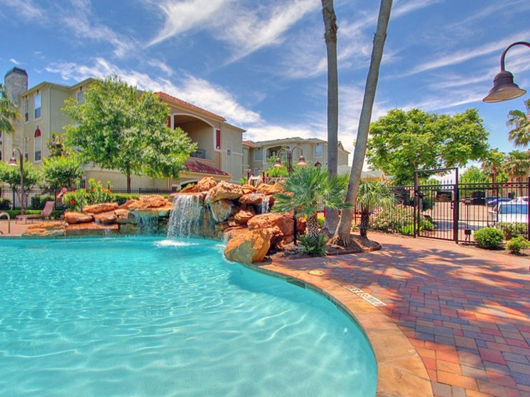 Resort Style Pool at The Bridges on Eldridge, Houston, TX, 77077