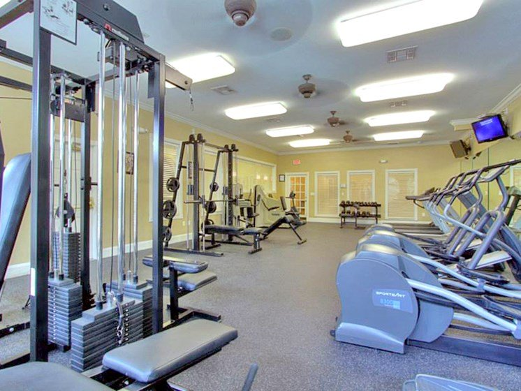 State-of-the-Art Fitness Center at The Bridges on Eldridge, Texas, 77077