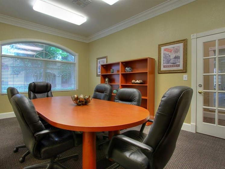Business Center with Conference Room at The Bridges on Eldridge, Houston, 77077