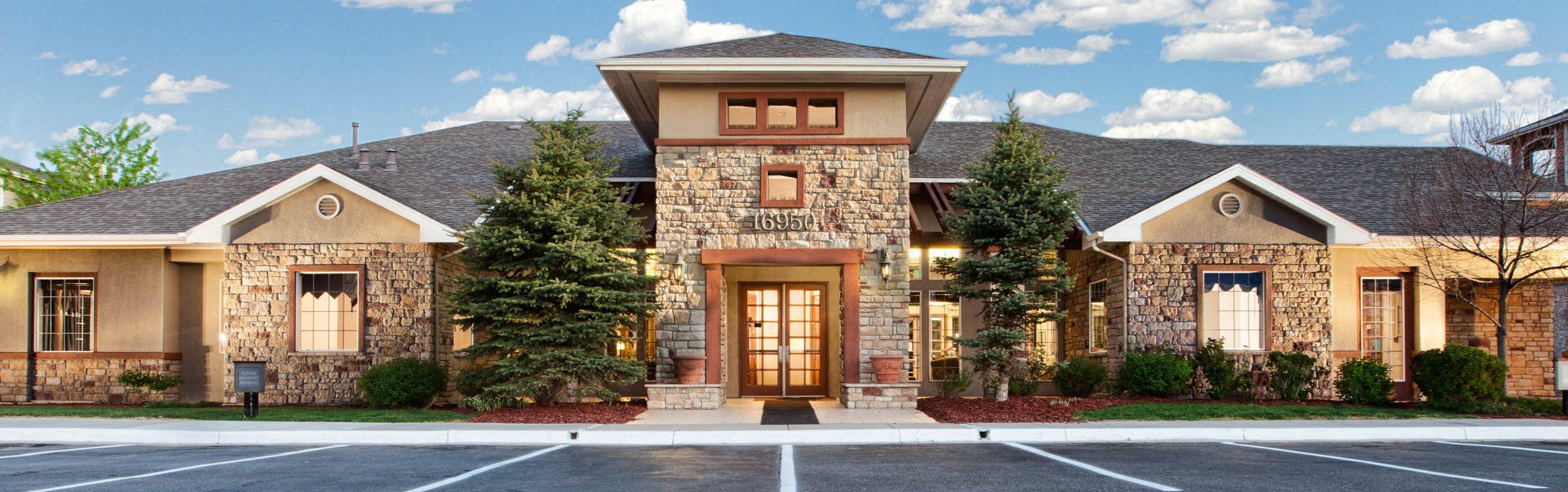 1,2 & 3 Bedroom Apartments in Parker, CO | Ranchstone | Floor Plans