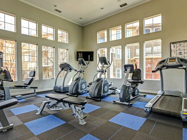 24-Hour Fitness Center at Ranchstone Apartments, Parker, CO