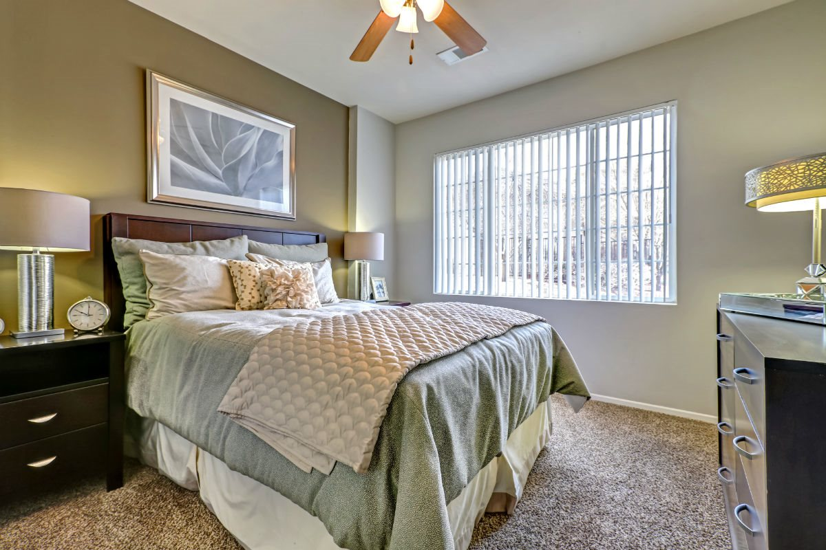 spacious bedrooms with Large Windows at Ranchstone Apartments, 17125 E Carlson Drive, CO