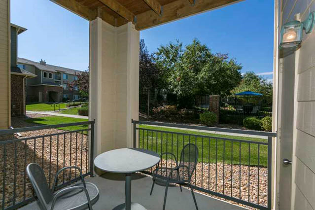 Wrap Around Balcony Or Patio At Ranchstone, Parker, CO,
