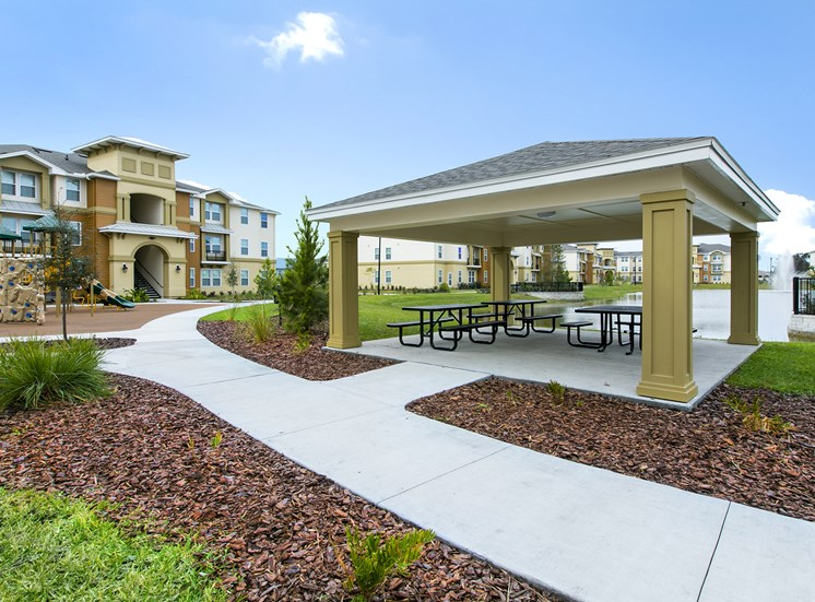 Heritage Park Apartments for rent in Kissimmee, FL. Make this community your new home or visit other Concord Rents communities at ConcordRents.com. Picnic area