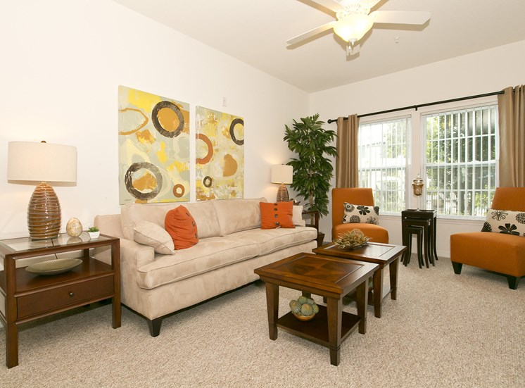 Grove Park Apartments for rent in Port St. Lucie, FL. Make this community your new home or visit other Concord Rents communities at ConcordRents.com. Living room