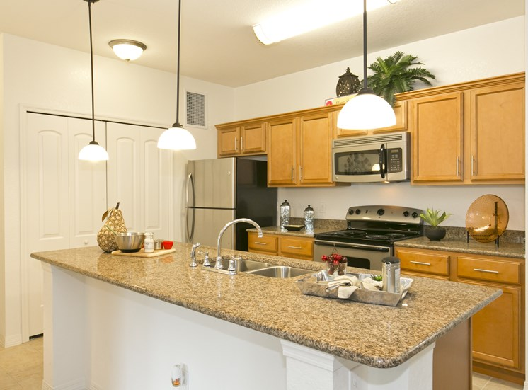 Grove Park Apartments for rent in Port St. Lucie, FL. Make this community your new home or visit other Concord Rents communities at ConcordRents.com. Kitchen