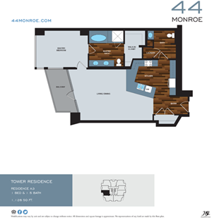 A3 | One bedroom