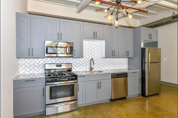 Canton Photo Gallery 1 Stainless Steel Liances At Mill Lofts Apartments In Ga