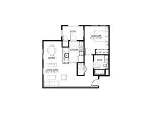 One Bedroom H