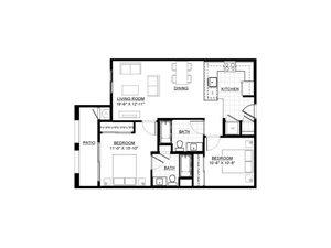 Two Bedroom E