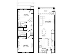 Two Bedroom Townhome 4