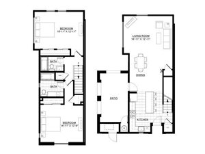 Two Bedroom Townhome 8