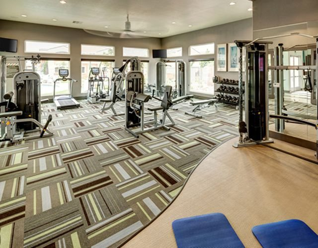 State-Of-The-Art Fitness Center-Fitness center- free weights, weighted machines, cardio machines
