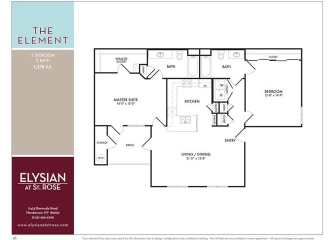 Element Floor Plan 2