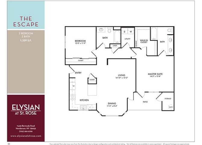 Escape Floor Plan 3
