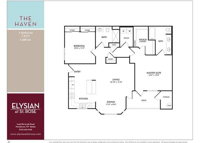 Haven Floor Plan 4