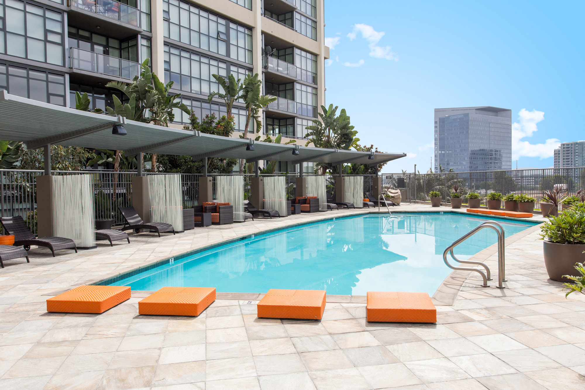 Sparkling Pool At Astoria At Central Park West Apartments, Irvine CA