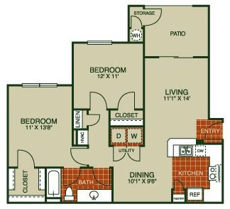 Bluebonnet Floor Plan 2