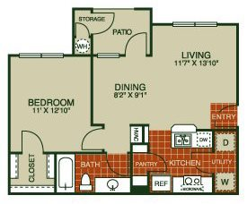 Buttercup Floor Plan 1