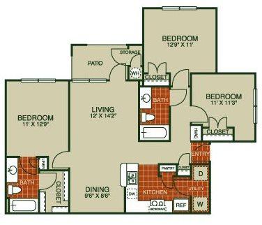 Oleander Floor Plan 4