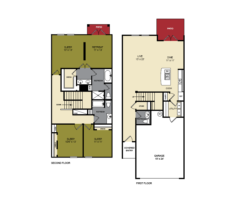 The Mesquite Floor Plan 6