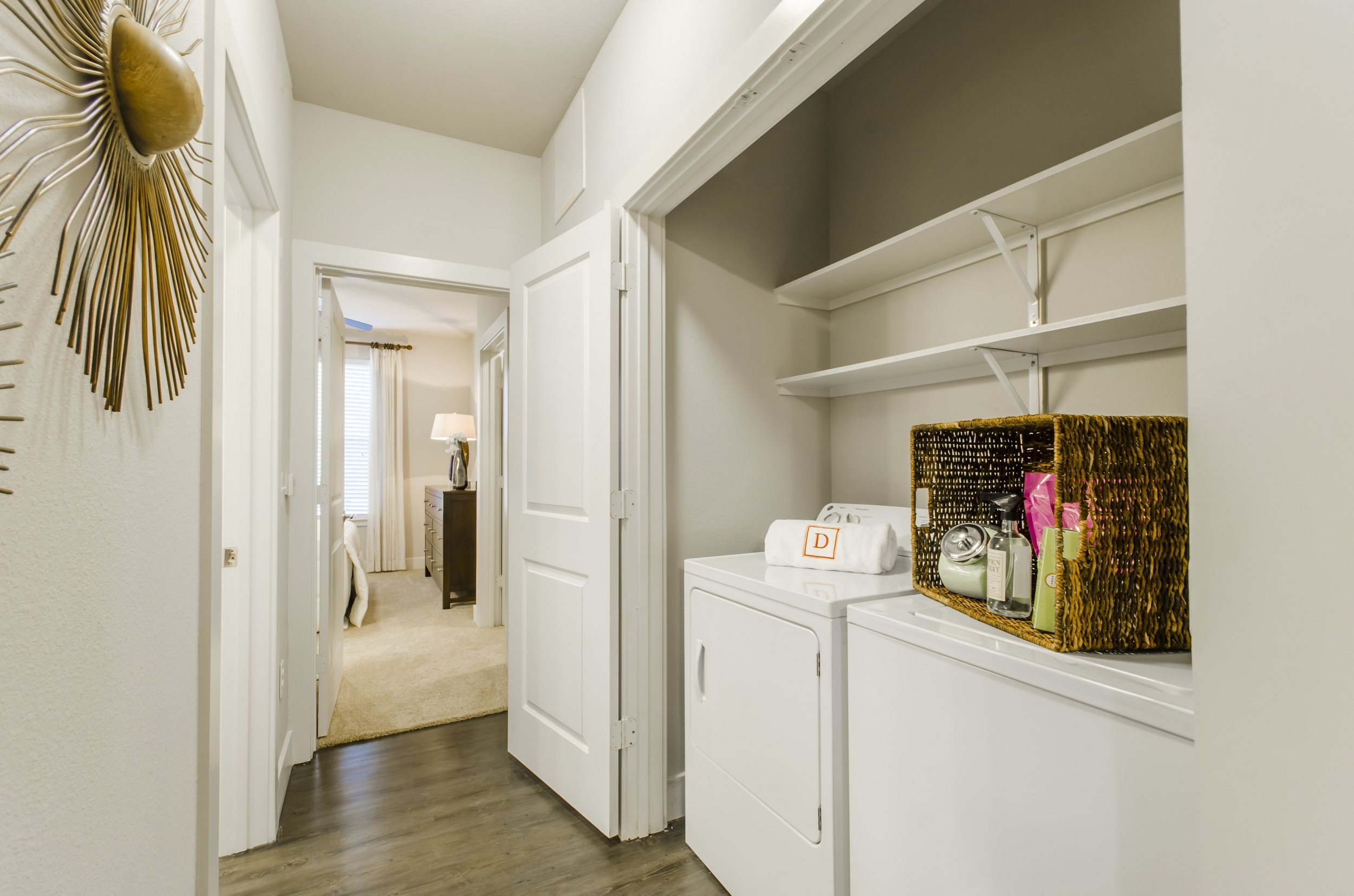Spacious Laundry Rooms
