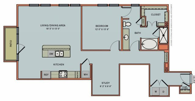 3-AS2 Floorplan at The Can Plant Residences at Pearl
