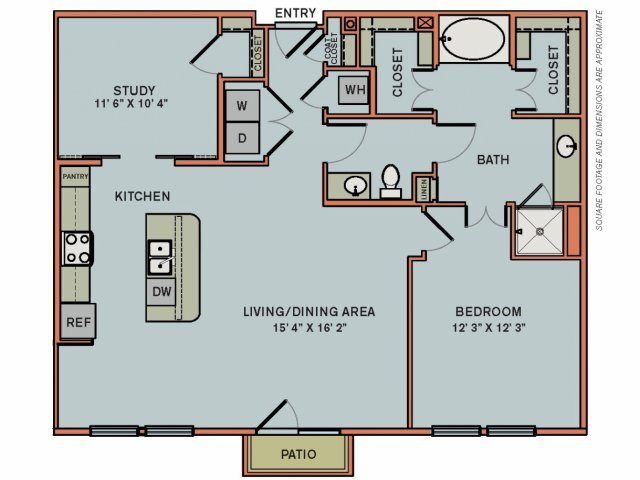 3-AS3 Floorplan at The Can Plant Residences at Pearl