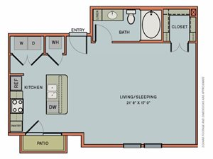 3-S1 Floorplan at The Can Plant Residences at Pearl