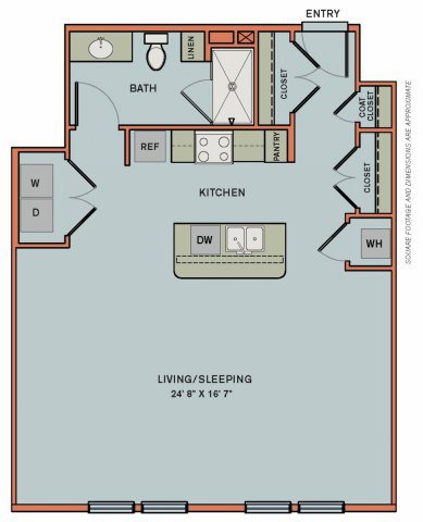 3-S3 Floorplan at The Can Plant Residences at Pearl
