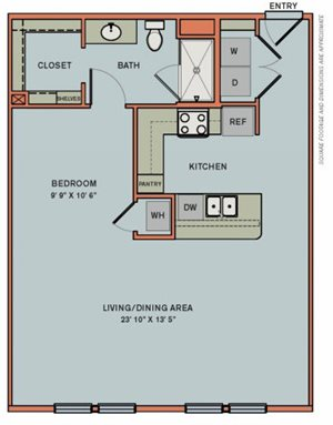 3-S4 Floorplan at The Can Plant Residences at Pearl