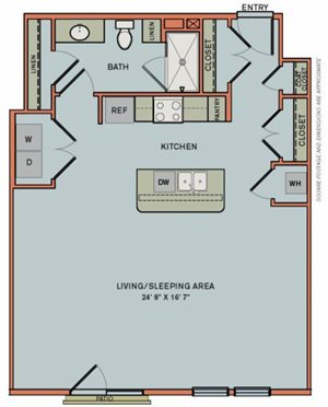 3-S5 Floorplan at The Can Plant Residences at Pearl
