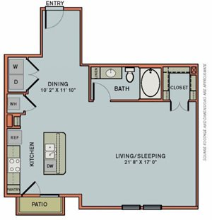 3-S6 Floorplan at The Can Plant Residences at Pearl