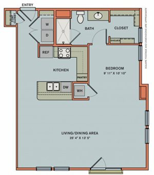 3-S7 Floorplan at The Can Plant Residences at Pearl