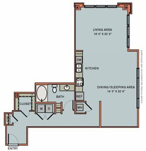 3-S8 Floorplan at The Can Plant Residences at Pearl