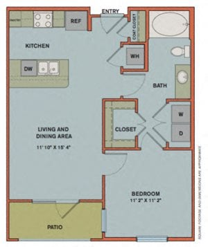 A2.1 Floorplan at The Can Plant Residences at Pearl