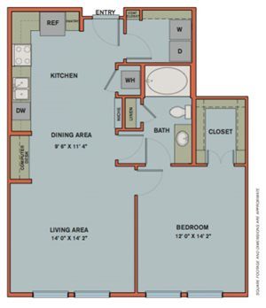 A7.1 Floorplan at The Can Plant Residences at Pearl