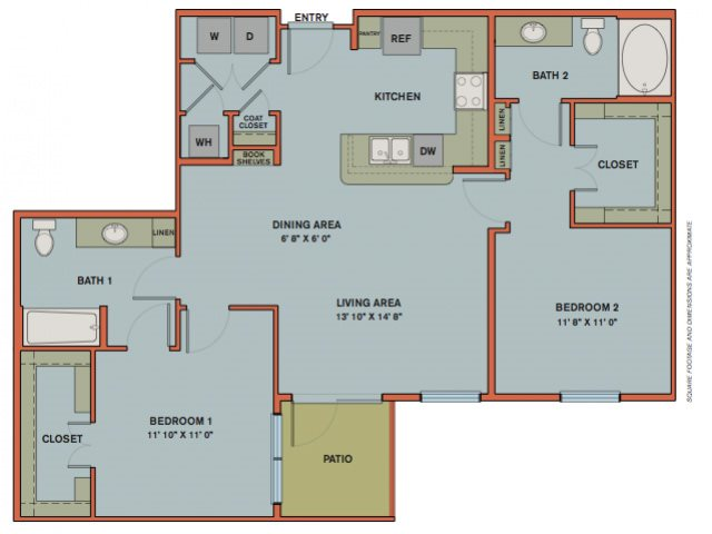 B7.1 Floorplan at The Can Plant Residences at Pearl