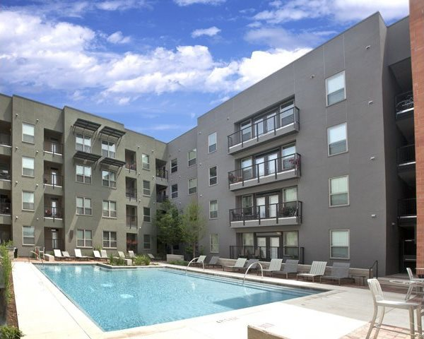 Relaxing Pool at The Can Plant Residences at Pearl, San Antonio, TX,78215