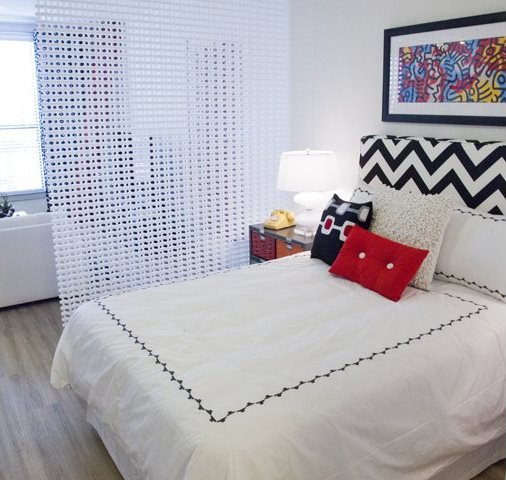 Spacious Bedroom at The Can Plant Residences at Pearl, San Antonio, TX,78215