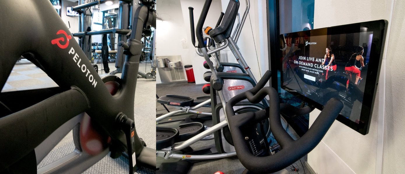 Peloton Spin Bike Available in 24 HR Fitness Center