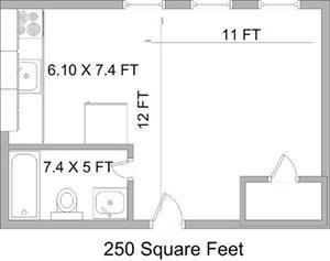 The aristo apartments 2944 madison road cincinnati oh for 250 square foot apartment floor plan