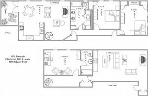 2 Bedroom - Model B