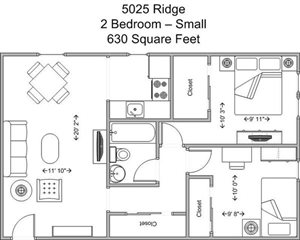 2 Bedroom - Small