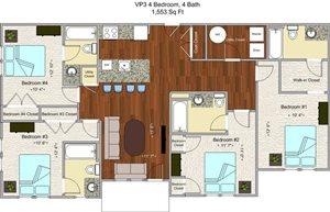 Model Q - 4 Bedroom - Individual